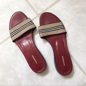 Vintage Burberry Sandals